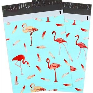 Other - 20 Flamingo Self Adhesive Poly Mailers 10 x 13